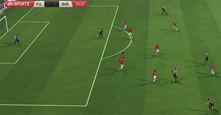 Как защищать собственную зону в FIFA 15 рисунок 2