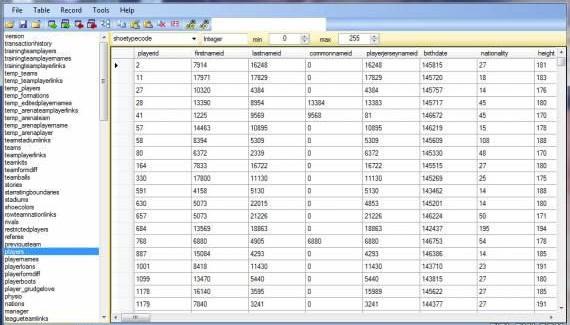 Программа DataBase Master 15 для FIFA 15