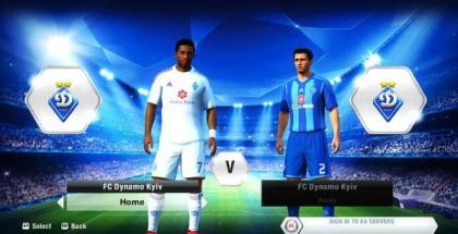 FC Dynamo Kyiv team