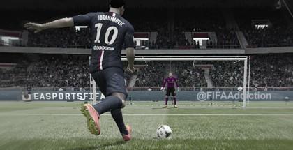 Как бить пенальти в FIFA 15
