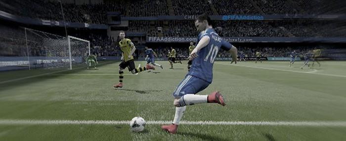 FIFA 15 навесы: как делать кроссы и прострелы?