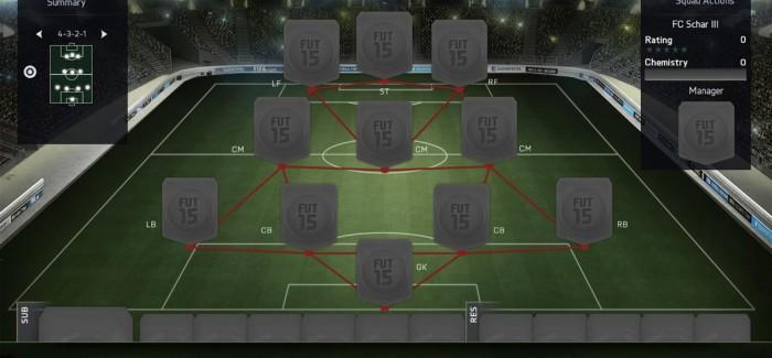 Обучение: Схема 4-3-2-1 в FIFA
