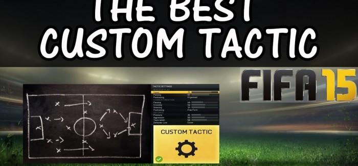 FIFA 15 тактики: как  правильно настроить?