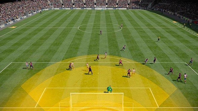 Особенности командной тактики в FIFA 15
