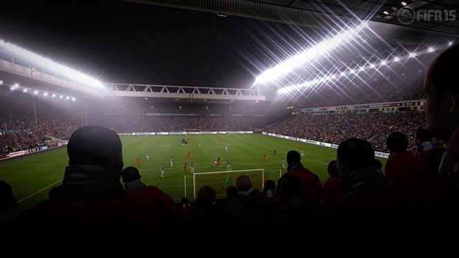 Реалистичный живой стадион в FIFA15