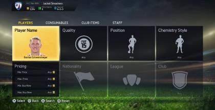 Уникальные предметы в магазине FIFA Ultimate Team