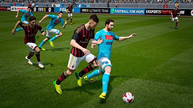 Схватки 1 на 1 в FIFA 15