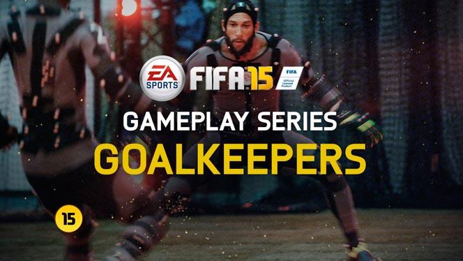 Управление голкипером в FIFA 15