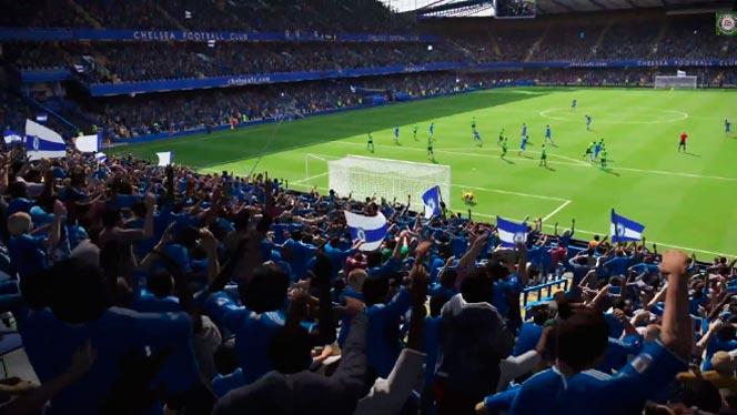 Живой стадион в FIFA 15
