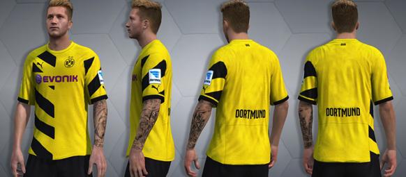 Татуировки футболистов в FIFA 16 на примере Марко Ройса