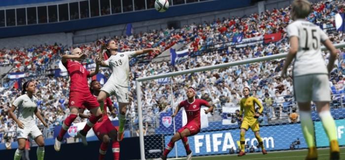 Женские национальные сборные по футболу в FIFA 16