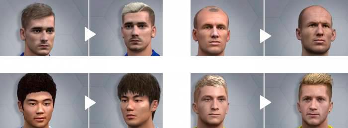 обновление лиц в FIFA 16 2