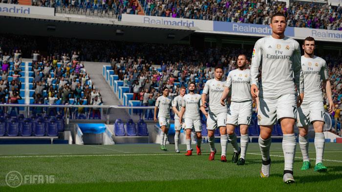 Скриншот FIFA 16