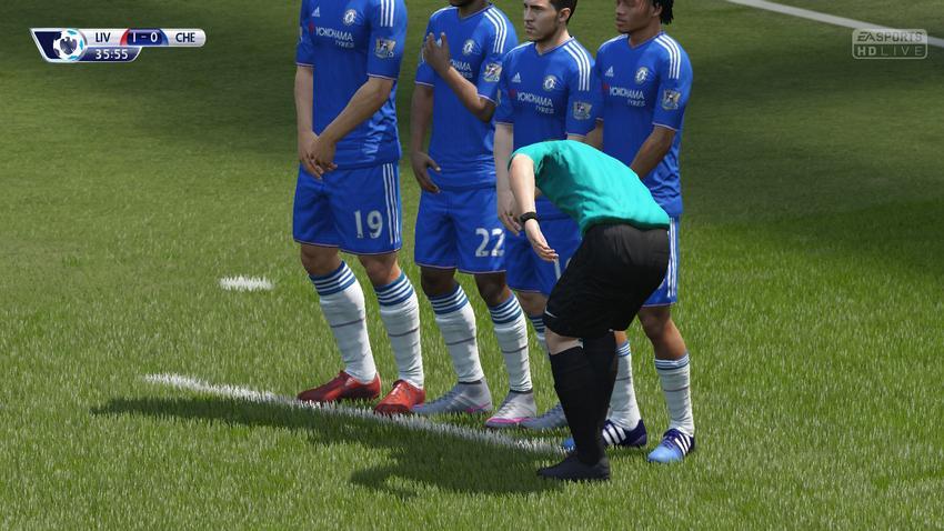 Исчезающий спрей в FIFA 16