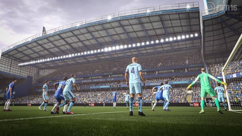 Контроль в центре поля в FIFA 16