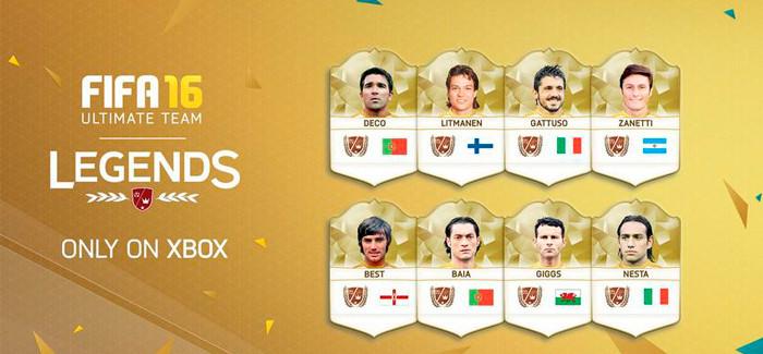 Легенды FIFA 16 Ultimate Team: описание и список легендарных футболистов