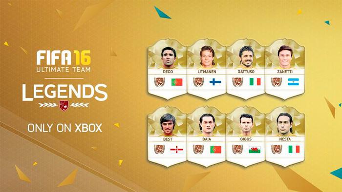 Новые легенды FIFA 16