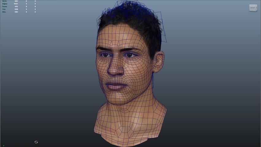 Рекордное обновление лиц в FIFA 16