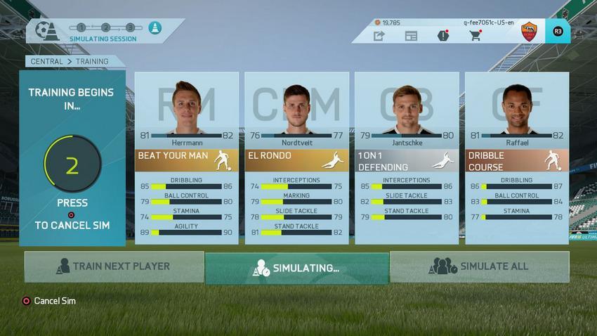 Тренировка для молодых футболистов в FIFA 16