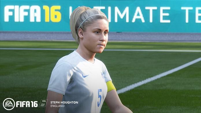 Улучшенная графика женских команд в FIFA 16