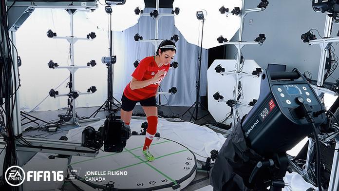 Уникальные анимации женских сборных в FIFA 16