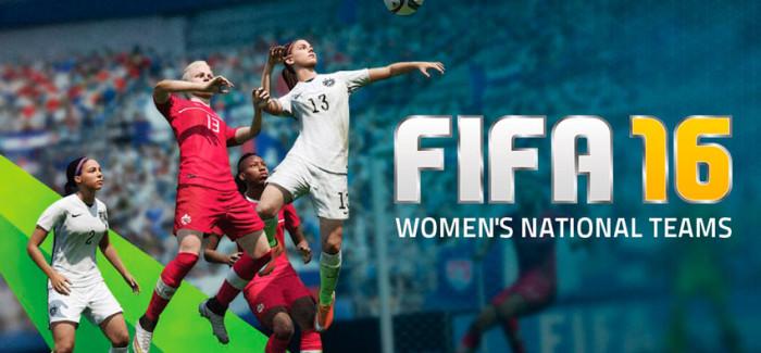 Женские сборные в FIFA 16