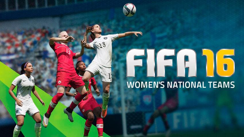 Женский футбол в FIFA 16