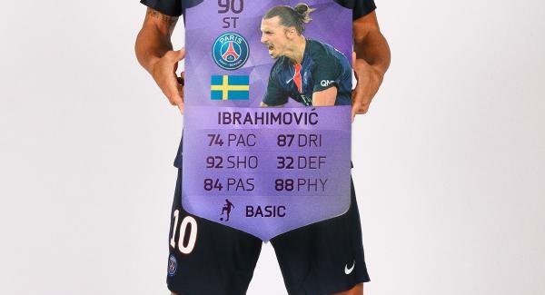 Новая фиолетовая карточка Златана Ибрагимовича уже в наборах FUT 16