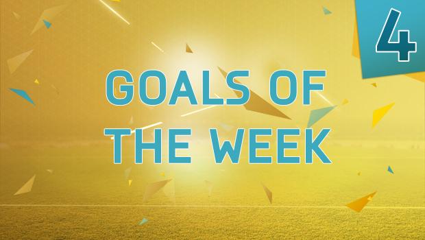 Лучшие голы недели №4 FIFA 16
