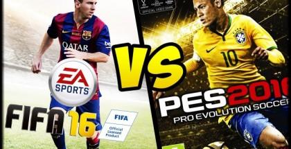 FIFA 16 или PES 16- что выбирают геймеры?