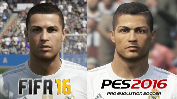 FIFA 16 или PES 16 - графика