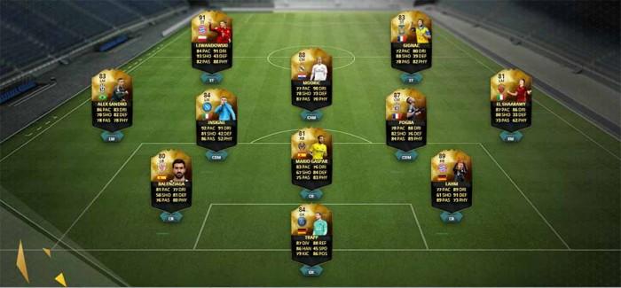FIFA 16 UT (TOTW) - Команда недели 20