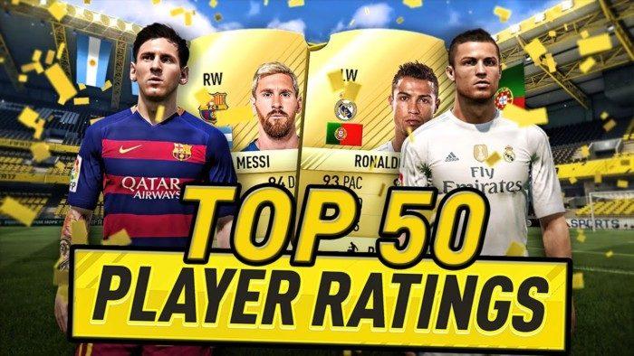 FIFA 17 ТОП-50 Игроков