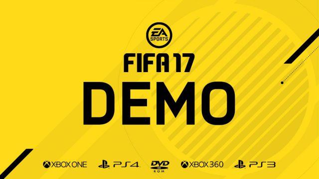 Демоверсия FIFA 17
